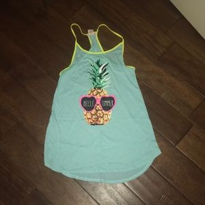 pineapple swimsuit cover up! 🍍